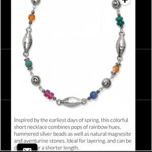 Barbadoes tropic necklace by Brighton and NWT